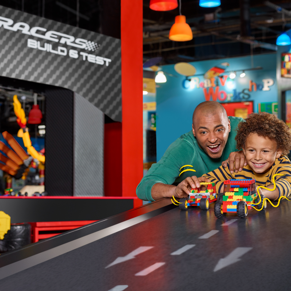 LEGO Racers: Build & Test | LEGOLAND Discovery Center Chicago