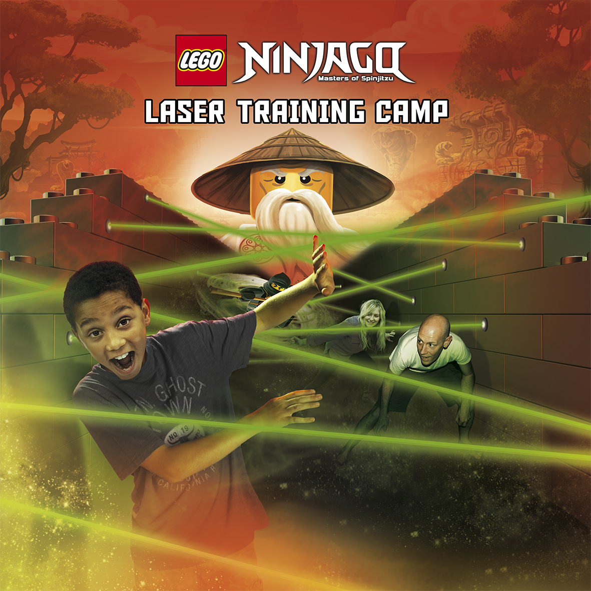 Ninjago Laser Trainingcamp US RGB