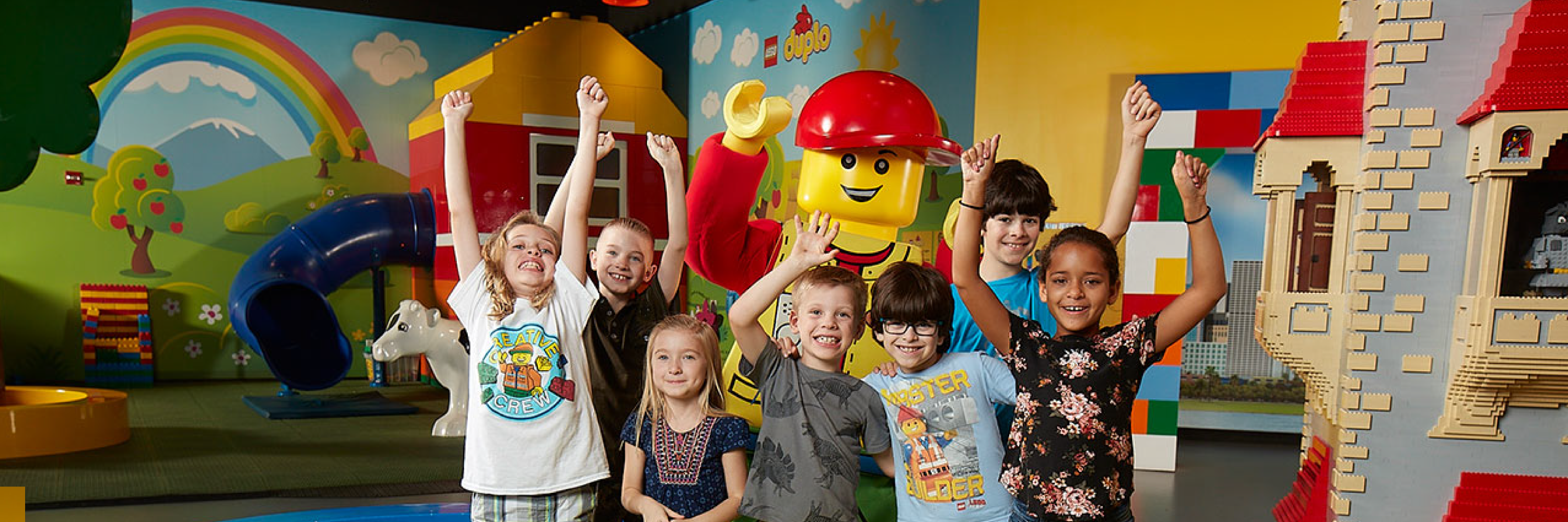 Meet LEGO Characters at LEGOLAND Discovery Center