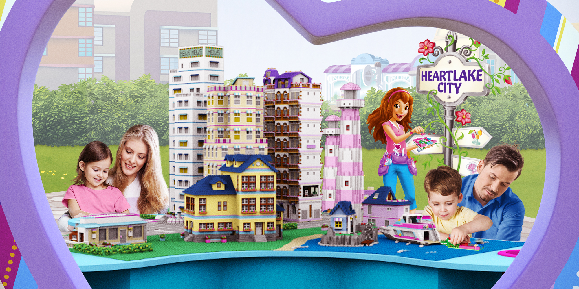 LEGO Friends Heartlake City at LEGOLAND Discovery Center Chicago