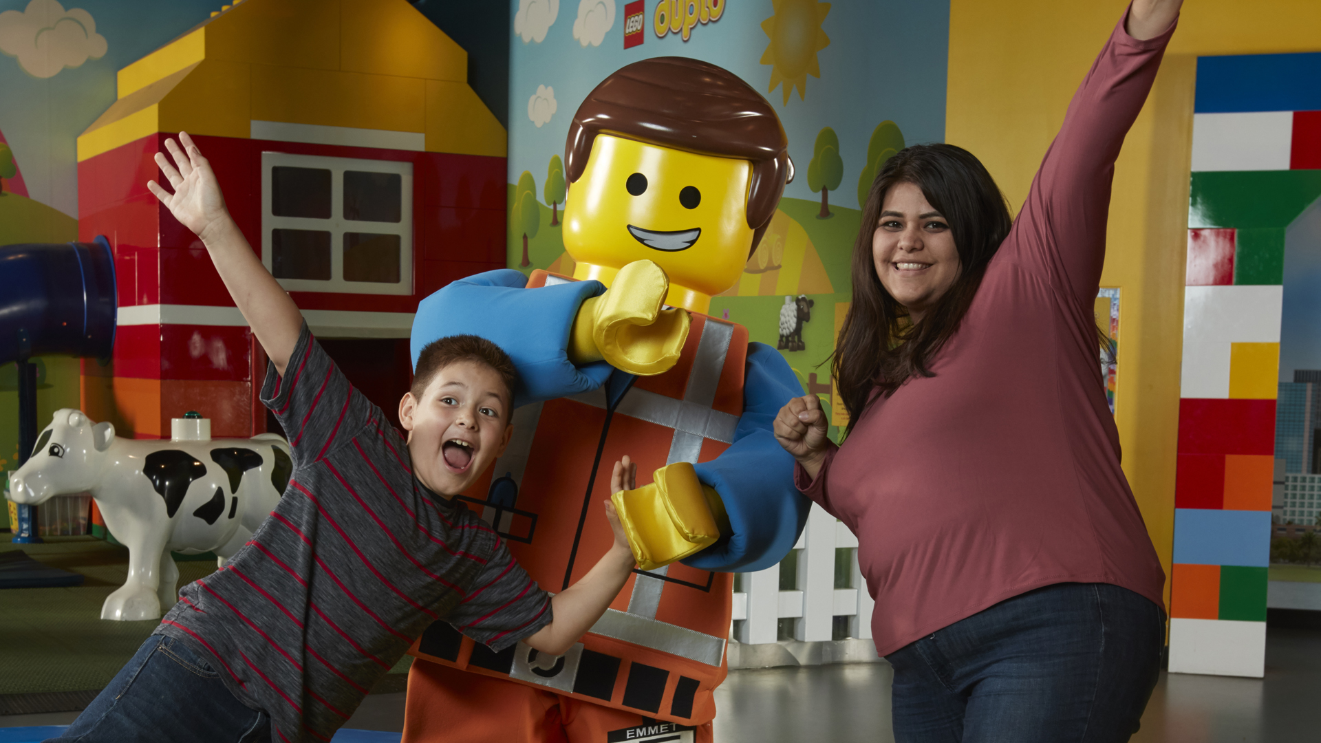 Character meet and greet at LEGOLAND Discovery Center Chicago