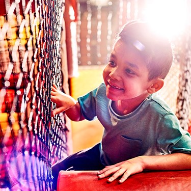 Kid in Soft Play | LEGOLAND Discovery Center New Jersey