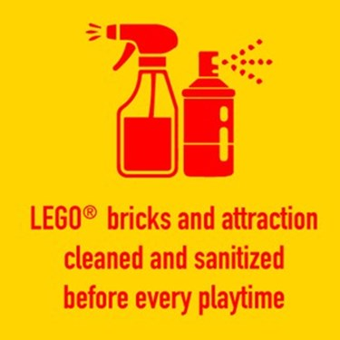 Cleaning | LEGOLAND Discovery Center