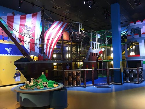 Pirate Adventure Island at LEGOLAND Discovery Center