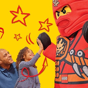 Meet Your Favorite LEGO® Characters | LEGOLAND Discovery Center